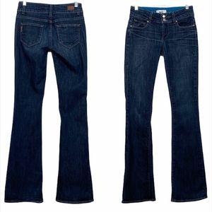 Paige Hidden Hills dark wash bootcut jeans size 25